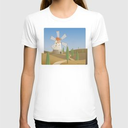 a quijote's glance T-shirt