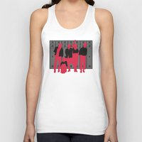breakfast club Tank Tops featuring The Breakfast Club by FilmsQuiz