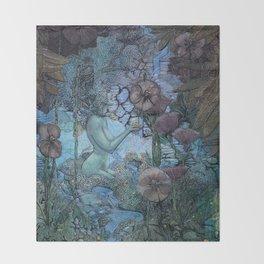 Gaian Forest Throw Blanket