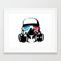 3d Framed Art Prints featuring 3D by Seizone
