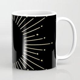 Mod Sunburst Gold 1 Coffee Mug