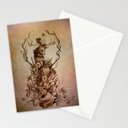 Cute Totem Stationery Cards