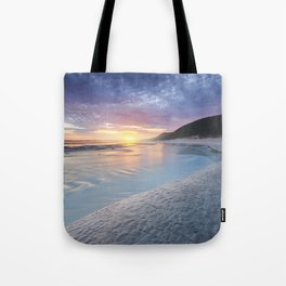 Curving into an Eleven Mile Sunset Tote Bag