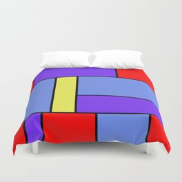 Abstract #482 Duvet Cover