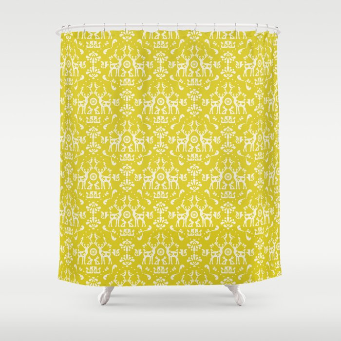 Forest Folklore Shower Curtain