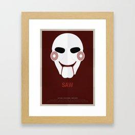 SAW Framed Art Print