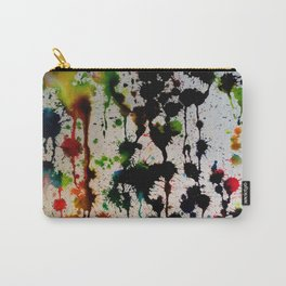Dripping Color Carry-All Pouch