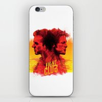 fight iPhone & iPod Skins featuring fight  by İsmail Kocabas