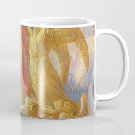 L'Assunzione (Assunta), Portrait by Gaetano Previati Coffee Mug