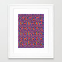 persian Framed Art Prints featuring Persian by gretzky