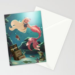 Sunken Library Stationery Cards