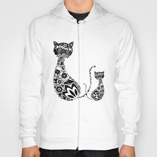 Cats Of Inversion - Digital Work Hoody