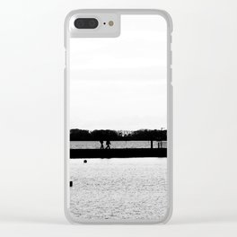 Emsworth Harbour. Clear iPhone Case
