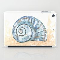 shell iPad Cases featuring Shell by Pendientera