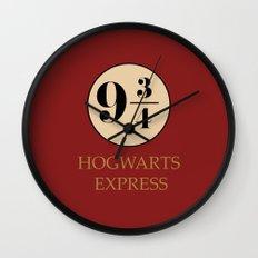 Hogwarts Express - Platform 9 3/4 Wall Clock