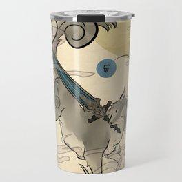 The Great Grey Wolf Sifkami Travel Mug