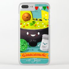 Guacamole Clear iPhone Case
