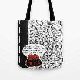 battered suitcases Tote Bag