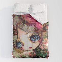Creature in Bloom Comforters