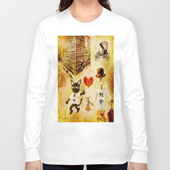 Monsieur Bone,Whim et la cloche Long Sleeve T-shirt