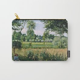 Camille Pissarro - Morning Sunlight Effect, Eragny Carry-All Pouch