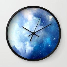 Starclouds Wall Clock