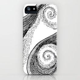Oceanic Rage iPhone Case