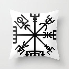 Vegvisir Throw Pillow