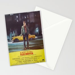 Taxi Driver Poster Artwork for Prints, Posters, Postcards, Tshirts, Bags, Men, Women, Kids Stationery Cards