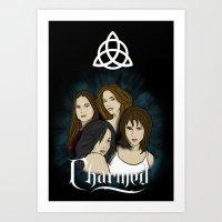 Charmed Art Print