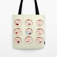 boys Tote Bags featuring Boys by Pedro Vilas Boas