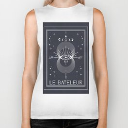 The Magician or Le Bateleur Tarot Biker Tank