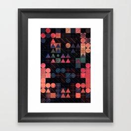 shww thyrww Framed Art Print