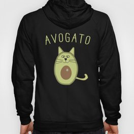 Avagato - Cute Avocado Cat Hoody