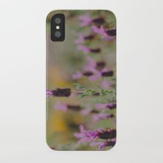 Smell the Lavender iPhone X Slim Case