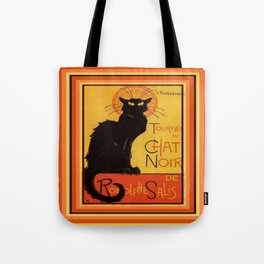 Tournee Du Chat Noir - After Steinlein Tote Bag