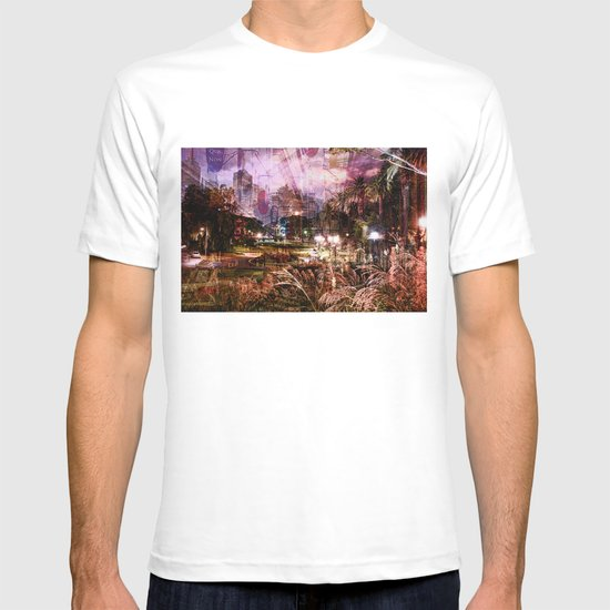 Double Exposure Art T-shirt
