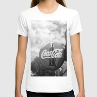 coca cola T-shirts featuring Coca Cola  by Chris' Landscape Images & Designs