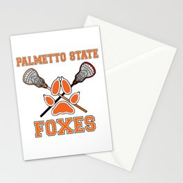 Palmetto State Foxes Exy Crest Stationery Cards