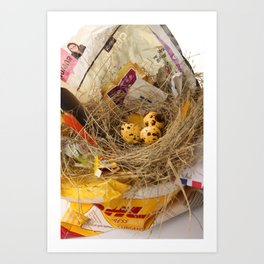urban.nests.101 Art Print