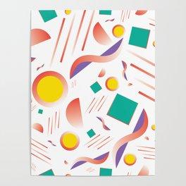 MIAMI SUBS MARTINI Poster