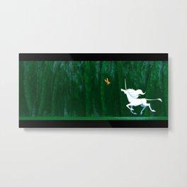 Unicorn Fields  Metal Print
