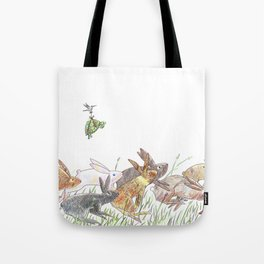 Defeating the fable Tote Bag