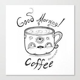 Good Morning Coffee 2 Canvas Print