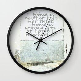 Hesse speaks Wall Clock