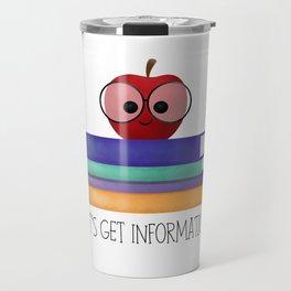 Let's Get Information! Travel Mug