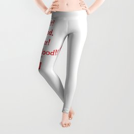 Norman Bates Quote. Oh Mother, Bloood! Leggings
