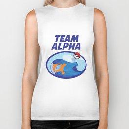 Team Alpha Sapphire Biker Tank