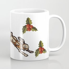 Christmas on the Nut Express Coffee Mug