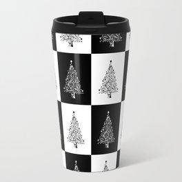 Christmas Tree Chess Travel Mug